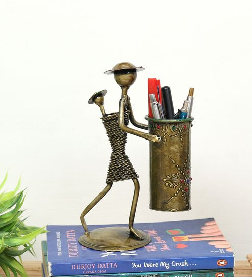 brown wrought iron human figurine by godeccor brown wrought iron human figurine by godeccor chhtfh