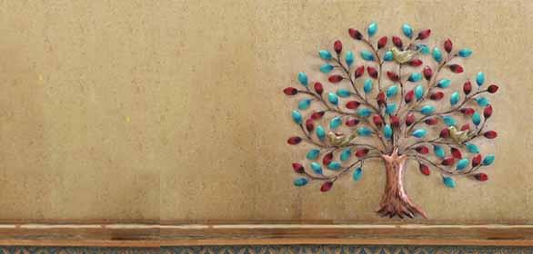 Floral-Metal-Art