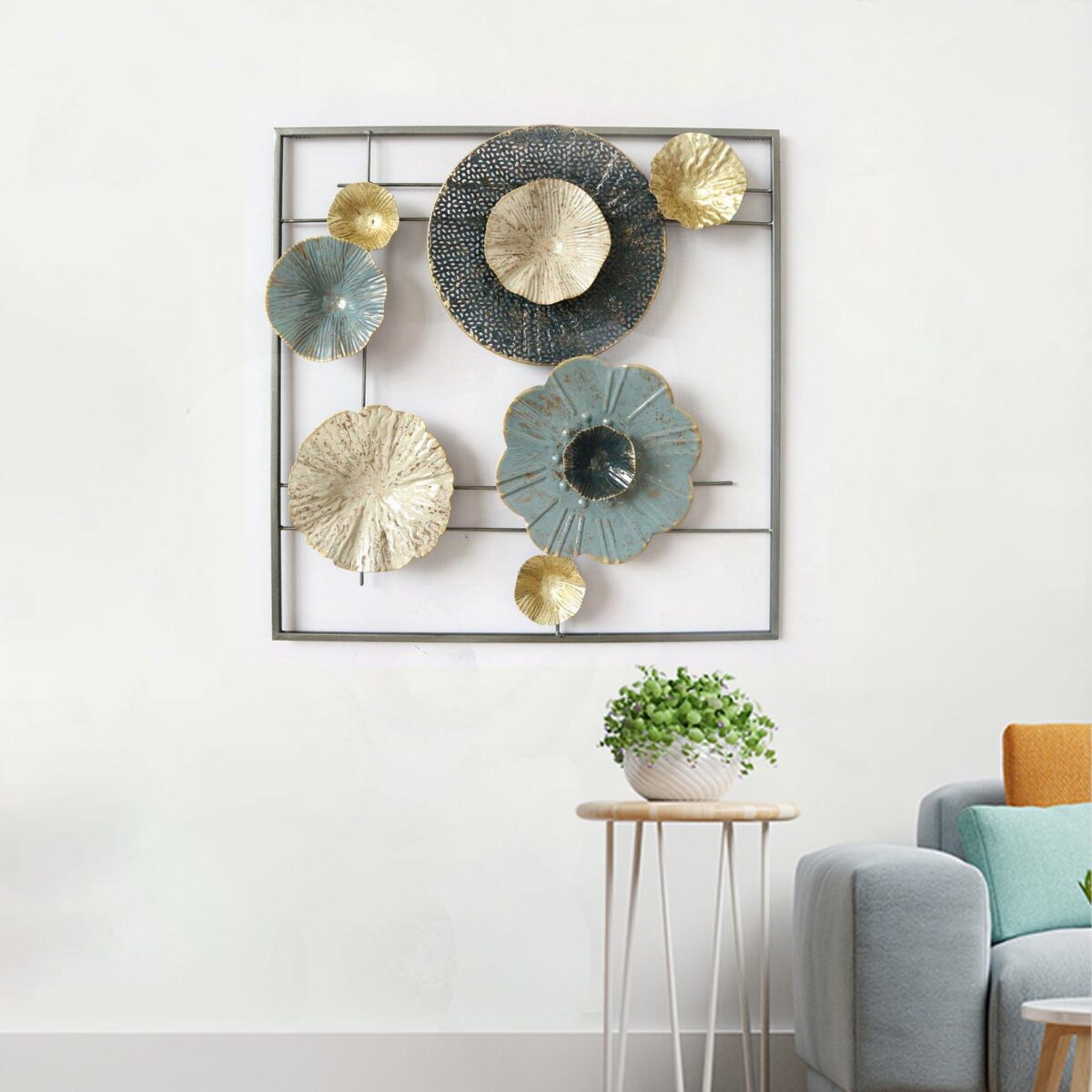 Craters of the Moon Metal Wall Art Panel