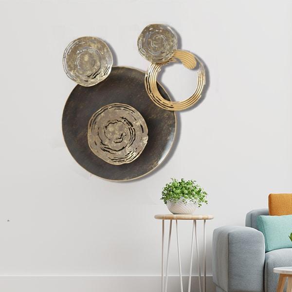 The Crescent Moon Metal Wall Art Panel